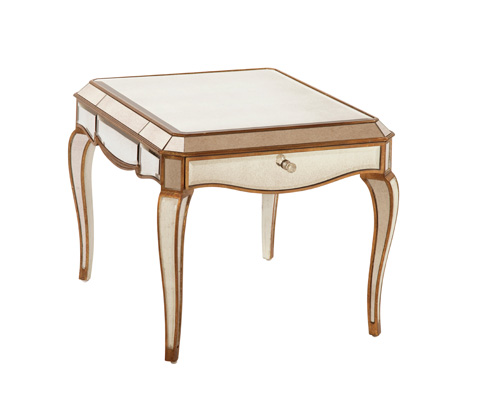 Image of Collette Rectangular End Table