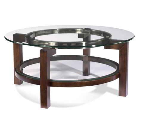 Bassett Mirror Company - Oslo Round Cocktail Table - T1705-120