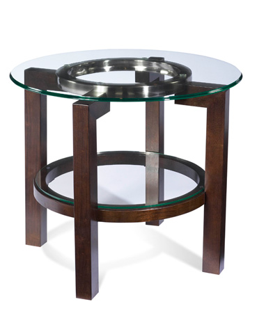 Image of Oslo Round End Table