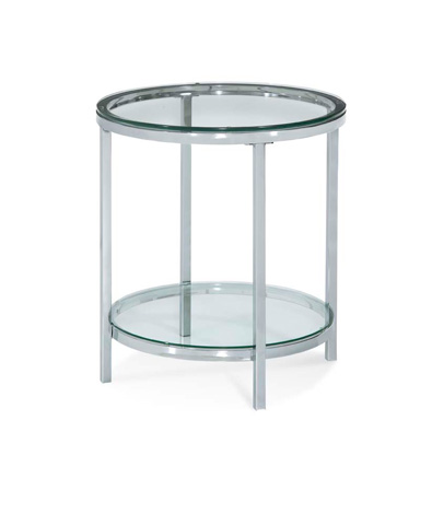 Image of Patinoire Round End Table