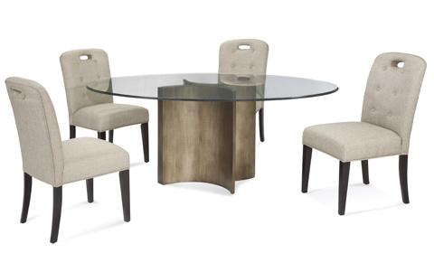 Bassett Mirror Company - Symmetry Dining Table - 2914-700