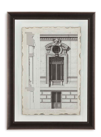 Bassett Mirror Company - Motifs Historiques II - 9900-267B