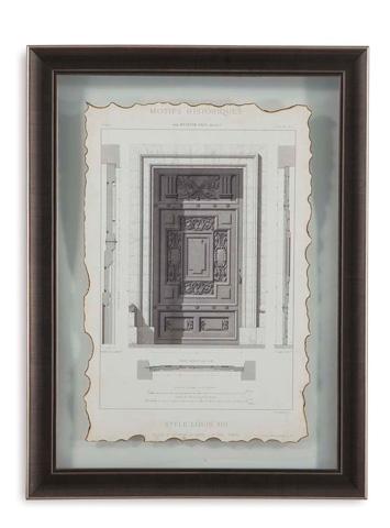 Bassett Mirror Company - Motifs Historiques IV - 9900-267E