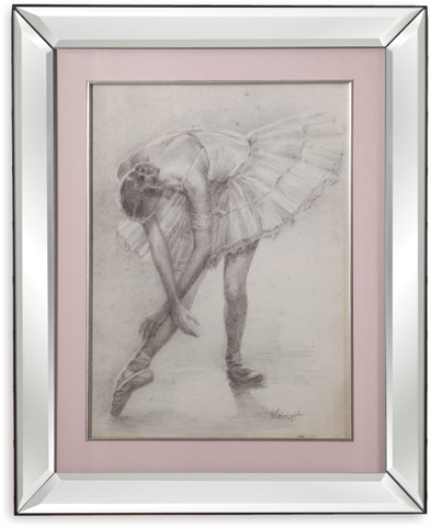 Bassett Mirror Company - Antique Ballerina Study II - 9900-289B
