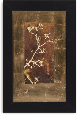 Bassett Mirror Company - Gold Leaf Branches I - 9900-290A