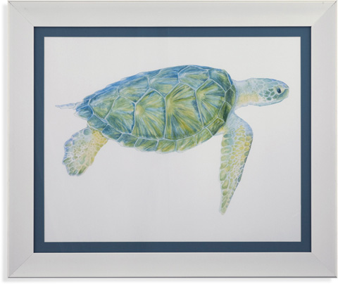 Bassett Mirror Company - Tranquil Sea Turtle I - 9900-397A
