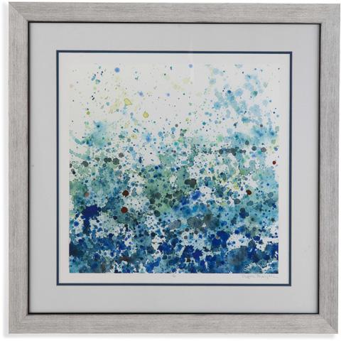 Bassett Mirror Company - Speckled Sea II - 9900-456B