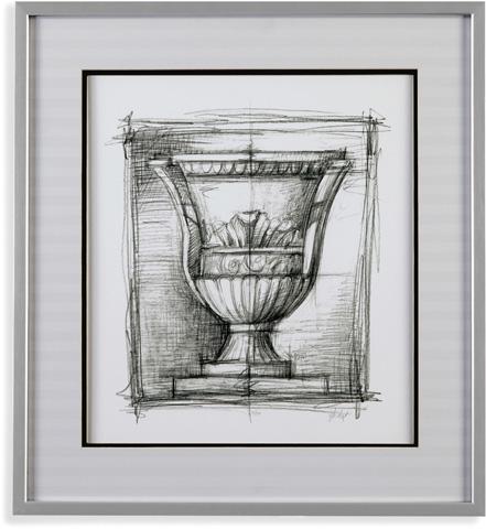 Bassett Mirror Company - Classical Elements III - 9900-476C