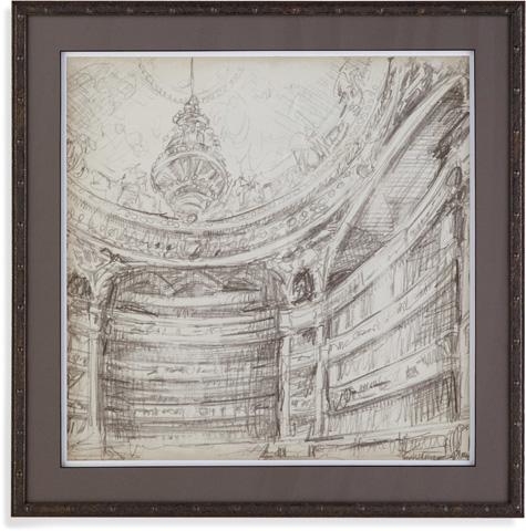 Bassett Mirror Company - Interior Architectual Study II - 9900-493B