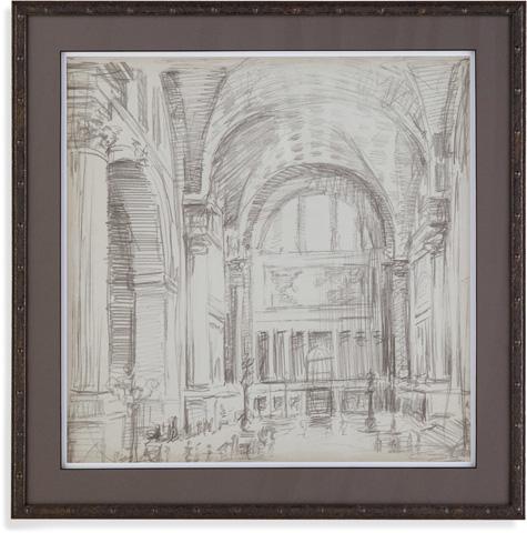 Bassett Mirror Company - Interior Architectual Study IV - 9900-493E