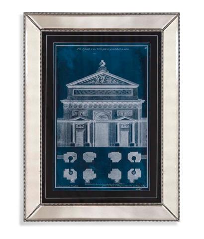 Bassett Mirror Company - Palace Facade Blueprint I - 9900-502A