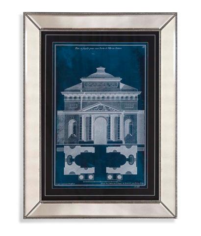 Bassett Mirror Company - Palace Facade Blueprint II - 9900-502B