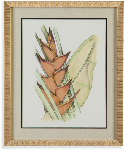 Bassett Mirror Company - Elegant Tropics IV - 9900-522E