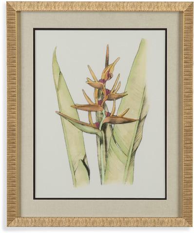 Bassett Mirror Company - Elegant Tropics VI - 9900-522G