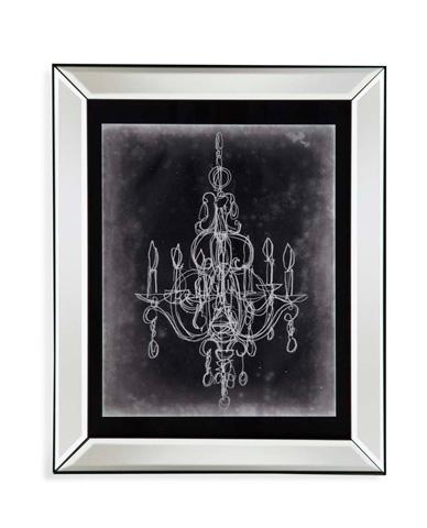 Bassett Mirror Company - Chalkboard Chandelier SketchIV - 9900-537E