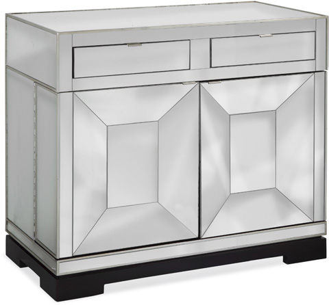 Image of Taney Rolling Bar Cabinet