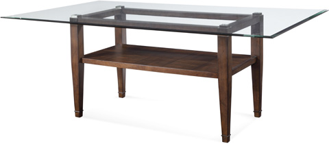 Bassett Mirror Company - Dunhill Oak Parquet Table - D1171-600