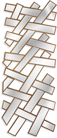 Bassett Mirror Company - Livingston Wall Hanging - M3673