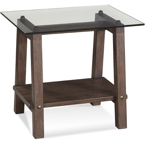 Bassett Mirror Company - Ellsworth Rectangular End Table - 2891-200B-T