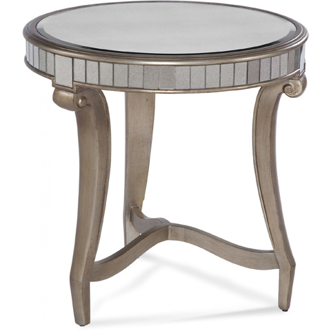 Bassett Mirror Company - Celine Round End Table - 2900-220