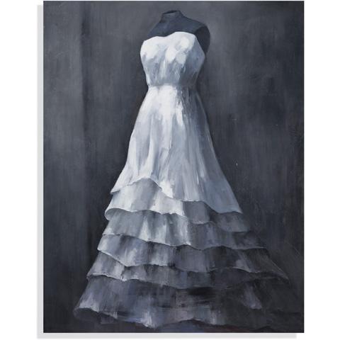 Bassett Mirror Company - Wedding Gown Art - 7300-117