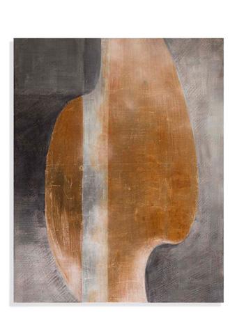 Bassett Mirror Company - Golden Waves Art - 7300-187A