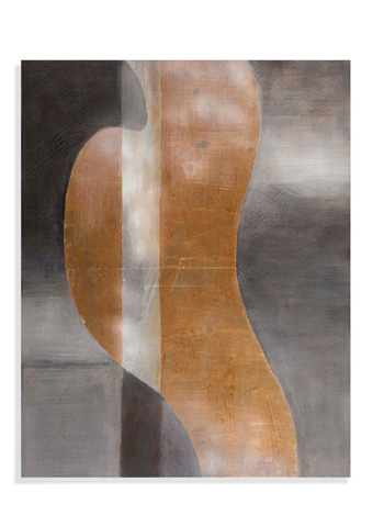 Bassett Mirror Company - Golden Waves Art - 7300-187B