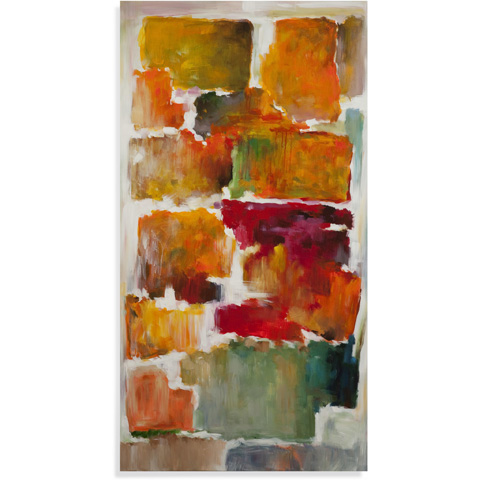 Bassett Mirror Company - Colorful Blocks Art - 7300-192B