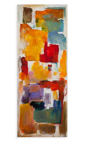 Bassett Mirror Company - Colorful Blocks Art - 7300-192C
