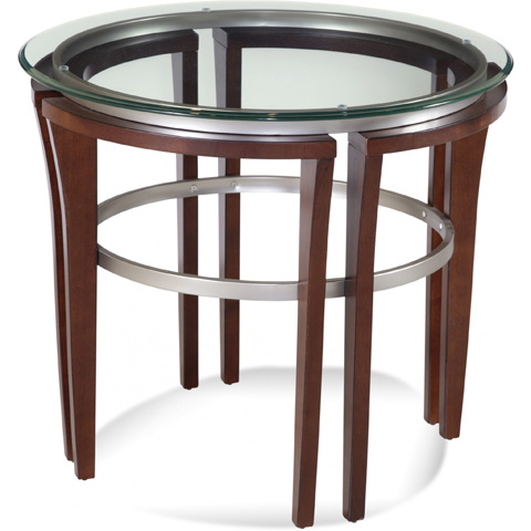Bassett Mirror Company - Fusion Round End Table - 8116-220-912