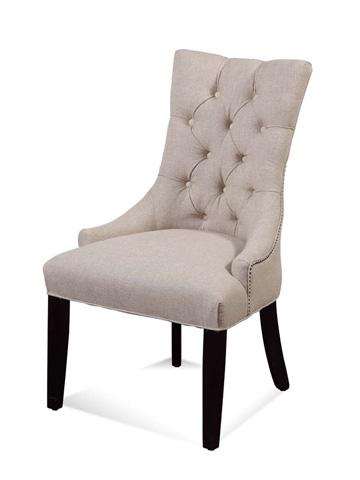Bassett Mirror Company - Fortnum Tufted Nailhead Parson Side Chair - DPCH15-739A