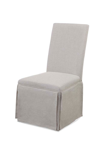 Image of Skirted Parsons Side Chair
