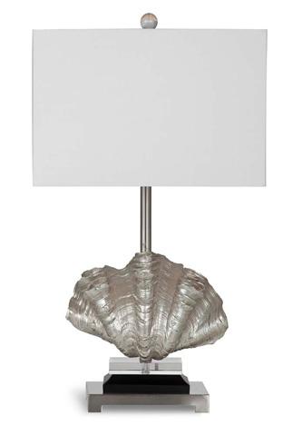 Bassett Mirror Company - Silver Shells Table Lamp - L2816T