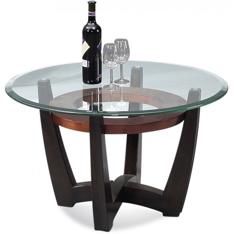 Bassett Mirror Company - Elation Round Cocktail Table - T1078-120-033