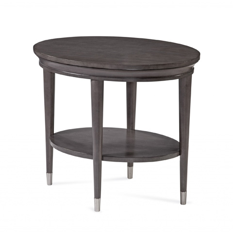 Bassett Mirror Company - Essex Oval End Table - 3011-240