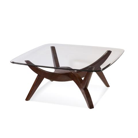 Bassett Mirror Company - Gillian Square Cocktail Table - 3015-131B-T