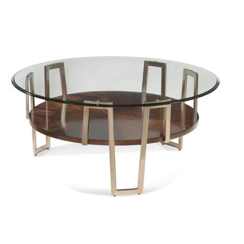 Bassett Mirror Company - Cornell Round Cocktail Table - 3017-121B-T