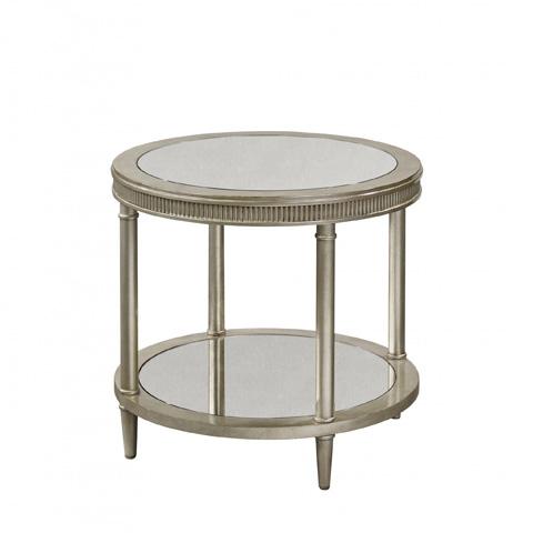 Bassett Mirror Company - Vanesta Round End Table - 3182-220