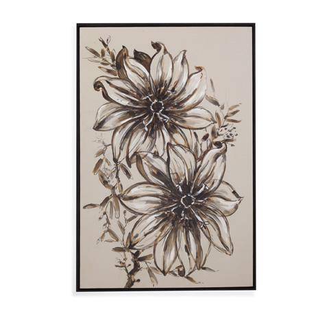 Bassett Mirror Company - Floral Sketch - 7300-205