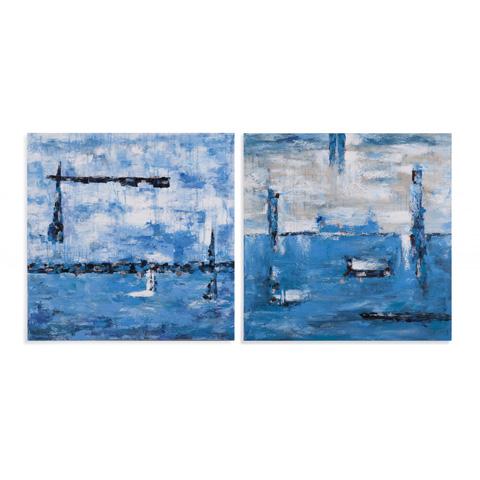 Bassett Mirror Company - Blue Horizons - 7300-248