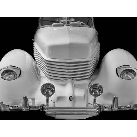 Bassett Mirror Company - 1936 Cord - 9014-089