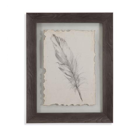 Bassett Mirror Company - Feather Sketch III - 9900-599C