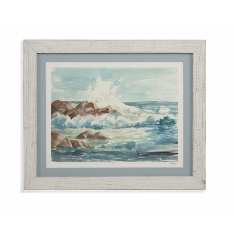 Bassett Mirror Company - Coastal Watercolor I - 9900-815A