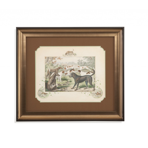 Bassett Mirror Company - A Group of Hounds - 9900-830A