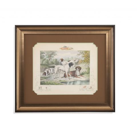 Bassett Mirror Company - A Group of Spaniels - 9900-830B