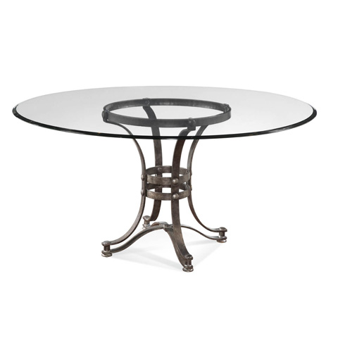 Bassett Mirror Company - Tempe Round Dining Table - D2660-700-095