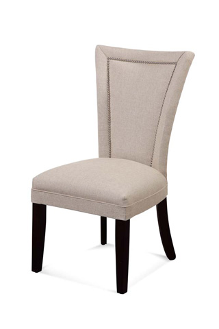 Bassett Mirror Company - Flair Nailhead Side Chair - DPCH11-739