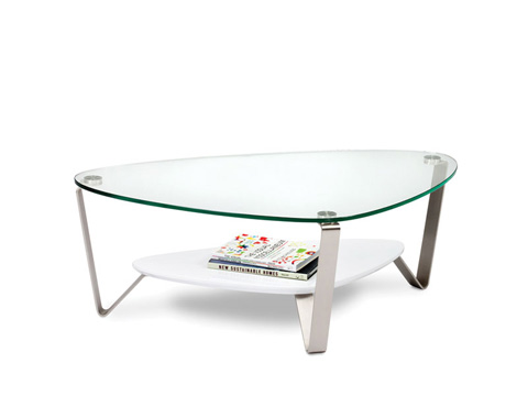 Image of Triangular Coffee Table
