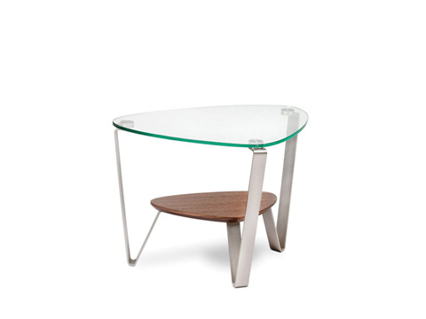 Image of Triangular End Table