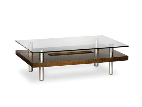 Image of Small Rectangular Coffee Table
